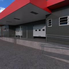 Office buildings by FM Studio,