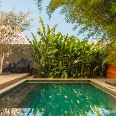 Pool by Frederico Trevisan Arquiteto, Minimalist