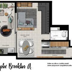 Edificios de oficinas de estilo  por Arquorum Arquitetura,