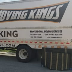 Cuartos pequeños  de estilo  por Moving Kings Van Lines,