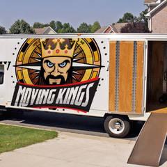 Moving Kings Van Lines:  tarz Küçük Yatak Odası, Kolonyal
