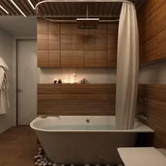 حمام تنفيذ Ник и Христина Рахат Rahat-House Design,
