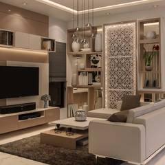 Ruang Keluarga oleh De Panache , Modern