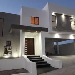 Modern houses by Torres Construcción & Diseño Modern کنکریٹ