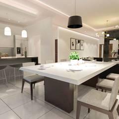 غرفة السفرة تنفيذ Torres Construcción & Diseño
