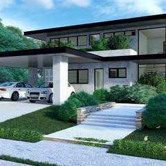 Casas unifamiliares de estilo  por F3DArch,