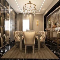 Ruang Makan Modern Oleh Mockup studio Modern
