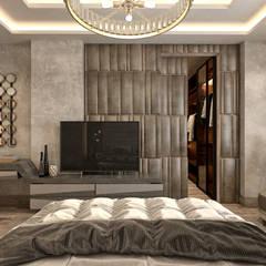 Kamar Tidur Modern Oleh Mockup studio Modern