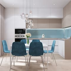 Small kitchens by CUBE INTERIOR, Minimalist