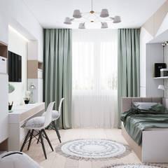 Teen bedroom by CUBE INTERIOR,