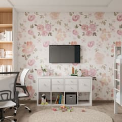Girls Bedroom by CUBE INTERIOR,