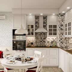 Small kitchens by CUBE INTERIOR, Country