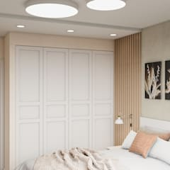 Small bedroom by CUBE INTERIOR,