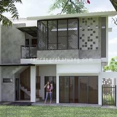 Mrs. Diana: Rumah oleh Rancang Reka Ruang, Modern