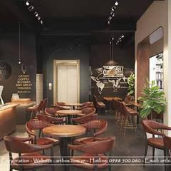Thiết kế nội thất quán cafe Viet Coffee Bean:  Nhà hàng by Thiết Kế Nội Thất - ARTBOX,