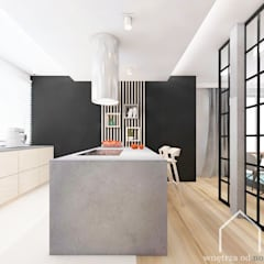 Built-in kitchens by Wnetrza od NOWA,