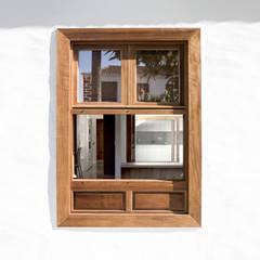 Passive house by AlbertBrito Arquitectura, Modern Stone