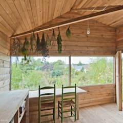 Garden Shed by AMUNT Architekten in Stuttgart und Aachen, Country