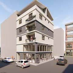 TT MİMARLIK – İzmir Çiğli Yeni Mahalle Konut ve İş yeri Projemiz:  tarz Apartman,