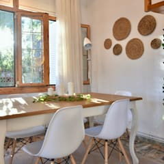 Dining room by Delaguard Home Staging, Mediterranean