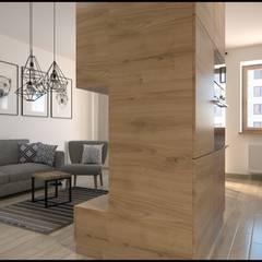 """mieszkanie """"Fort Służew"""" - projekt od GACKOWSKA DESIGN Nowoczesny"""