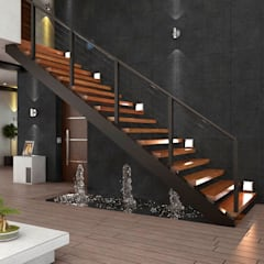 Stairs by AR216, Modern
