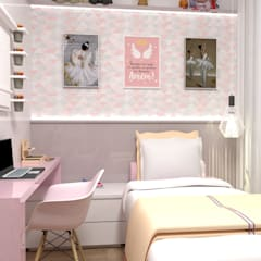 Girls Bedroom by Multiplanos Arquitetura, Classic