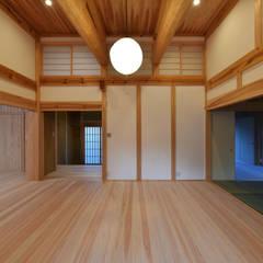 Media room by 水野設計室, Asian