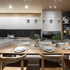 Dining room by Fertility Design 豐聚空間設計, Modern
