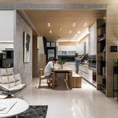 Muebles de cocinas de estilo  por Fertility Design 豐聚空間設計, Moderno
