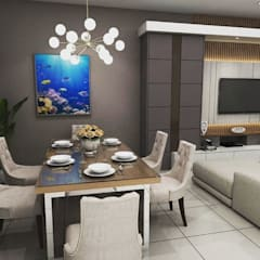 Design Kitchen set & Living Room:modern  oleh Maxx Details, Modern