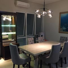 Furnish Build Dining Room:modern  oleh Maxx Details, Modern