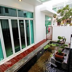 Kiara Residence Puchong:  Houses by ZYON STUDIO SDN BHD(fka zyon interior design sdn bhd),