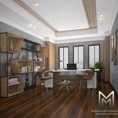 مقر ادارى بالشيخ زايد :  مكتب عمل أو دراسة تنفيذ Mohannd design studio, إنتقائي