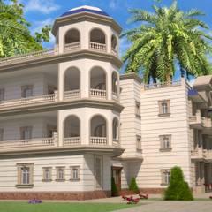 فيلا خاصه بالمملكه العربيه السعوديه من Mohannd design studio كلاسيكي