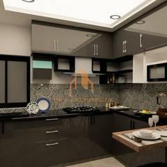 Muebles de cocinas de estilo  por Sky architects, Clásico