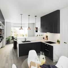Renovation & Interior Design by Studio Tashkeel Architecture Minimalist