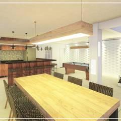 Casa em estilo Moderno Garagens e edículas modernas por Juan Jurado Arquitetura & Engenharia Moderno