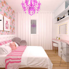 Teen bedroom by Talita Kvian, Classic