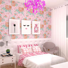 Girls Bedroom by Talita Kvian, Classic