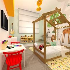 Baby room by Talita Kvian, Rustic