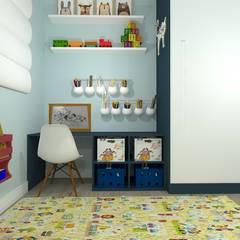Recámaras para bebés de estilo  por Talita Kvian, Rústico