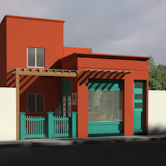 Commercial Spaces by Sela Arquitectos, Eclectic Concrete