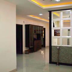 Gachibowli:  Corridor & hallway by Zeroth Habitats,