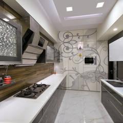 ห้องครัว โดย Ar. Milind Pai, โมเดิร์น