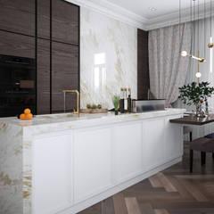 Muebles de cocinas de estilo  por Инна Азорская, Clásico