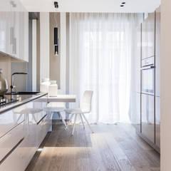 مطبخ تنفيذ Lucia Bentivogli Architetto,