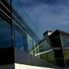 Frameless Glass Balustrade:  Balcony by Camel Glass, Modern