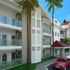 Royal Themale Suites Hotéis clássicos por HARTMANN ARQUITETOS ASSOCIADOS Clássico