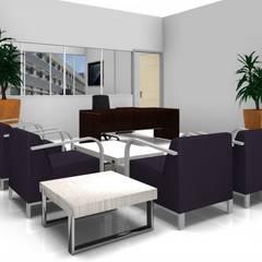 Edificio AG: Edificios de oficinas de estilo  por PLASS Arquitectura & Construcción,